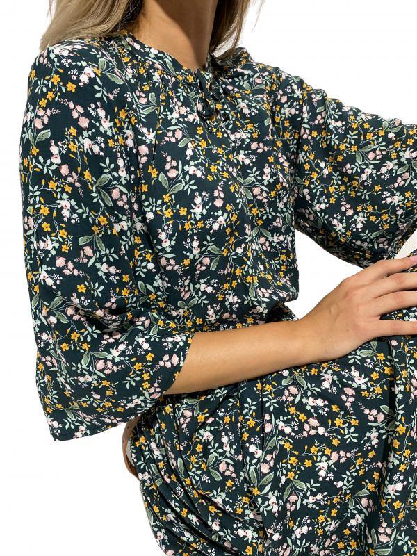 Rochie maxi cu model floral