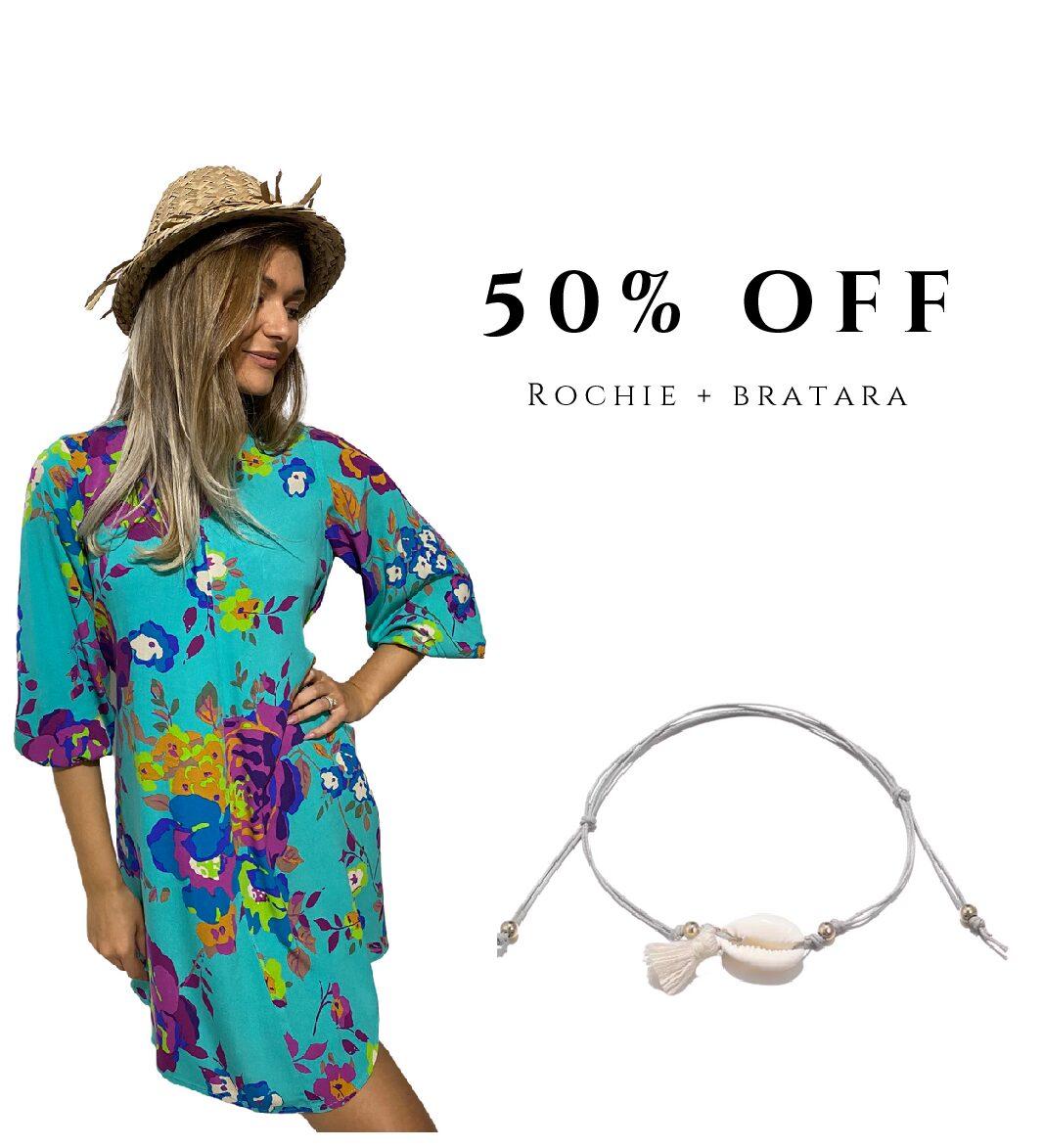 Rochie + bratara 50% OFF